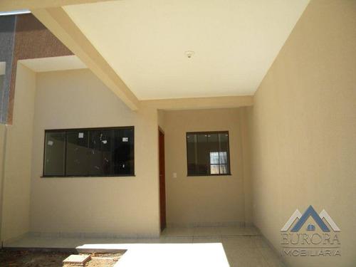 Imagem 1 de 15 de Casa Com 2 Dormitórios À Venda, 70 M² Por R$ 185.000,00 - Residencial Vila Romana - Londrina/pr - Ca0710