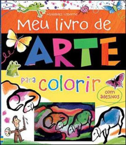 Imagem 1 de 1 de Meu Livro De Arte Para Colorir