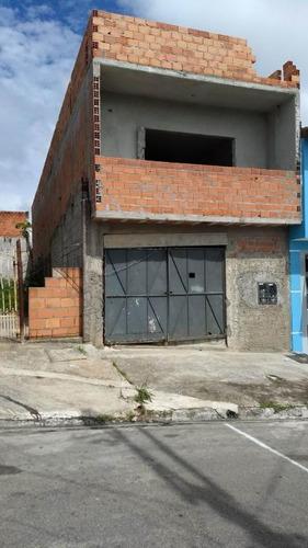 Sobrado À Venda, 4 Quartos, 2 Suítes, 2 Vagas, Parque Continental I - Guarulhos/sp - 671