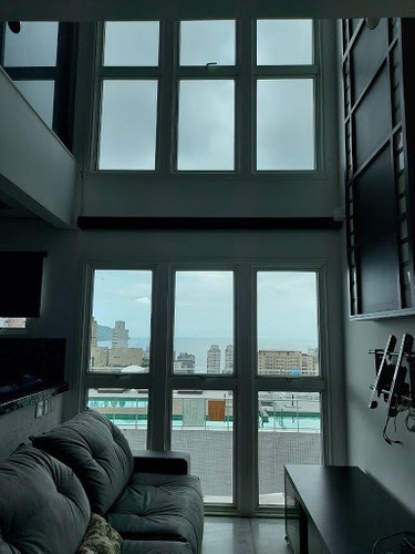 Loft Com 1 Dormitório À Venda, 82 M² Por R$ 800.000,00 - Gonzaga - Santos/sp - Lf0016