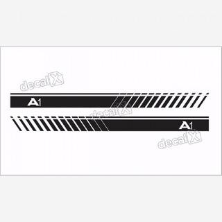 Adesivo Lateral Faixa Audi A1 A101