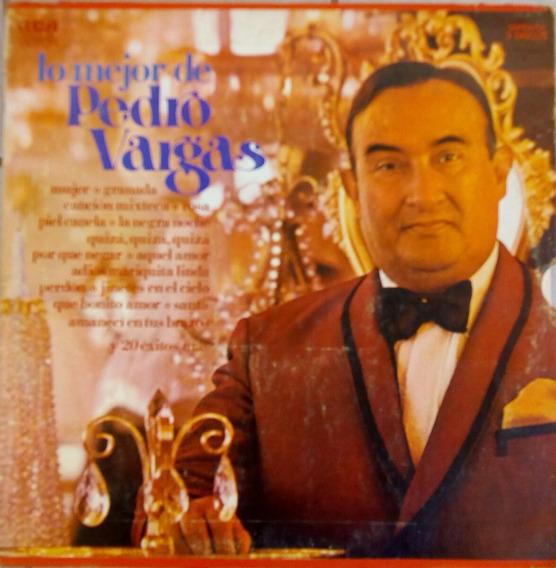 Pedro Vargas, Lo Mejor De