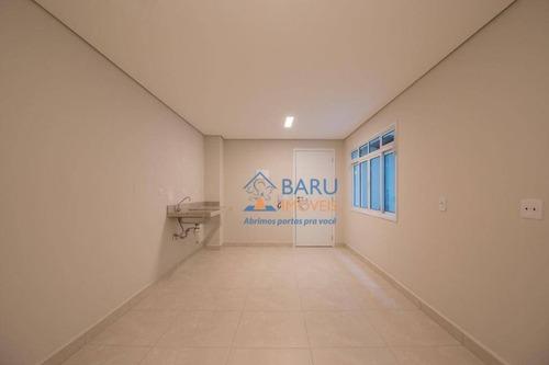 Imagem 1 de 13 de Studio Com 1 Dormitório Para Alugar, 24 M² Por R$ 1.147,50/mês - Campos Elíseos - São Paulo/sp - St0010