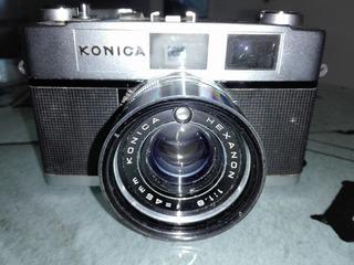 Camara Konica Auto S 2 Con Flash Sl 200