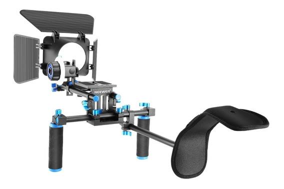 Kit De Dslr Rig Para Sistema De Producción De Películas Soporte Estabilizador
