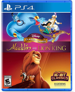 Disney Classic Games Aladdin & The Lion King Ps4 Nuevo Sella