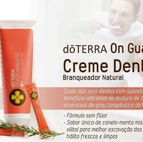 Pasta Creme Dental Clareador Natural On Guard 125g