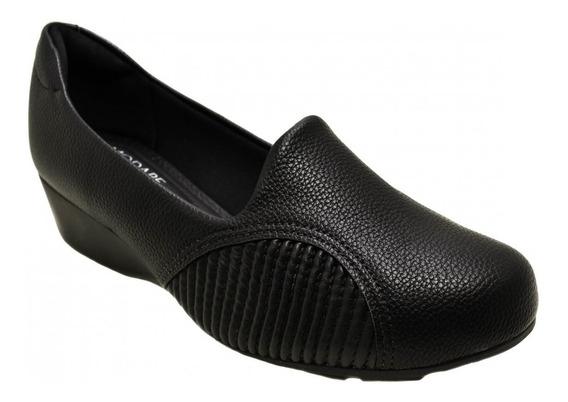Sapato Anabela Feminino Joanete Modare Ultraconforto 7014229