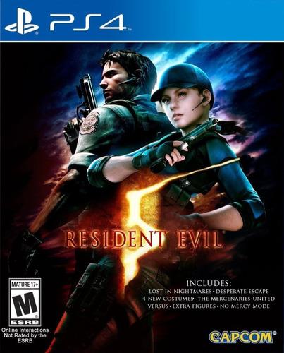 Resident Evil 5 Ps4 Fisico Sellado Nuevo Original