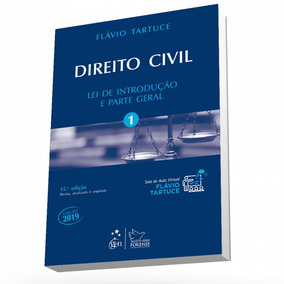 Livro Direito Civil -vol. 1- Lei De Introdução E Parte Geral