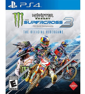 Monster Energy Supercross The Official Videogame 3 Ps4