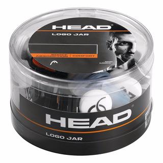 Antivibrador Head Logo Jar Novak Tenis Squash X 12 Unidades