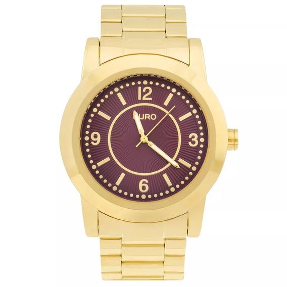 Relógio Euro Feminino Dourado Social Wr 50m Eu2036yga/4n