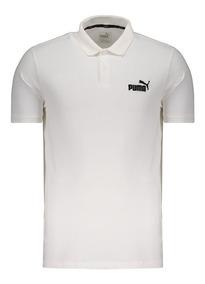 Polo Puma Pique Essentials Branca