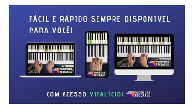 Poder Das Teclas- Piano Do Zero Ao Avançado! Link Descrição