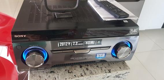 Receiver Sony Muteki Str-km7 7.2 Com Controle, Manual E Nf