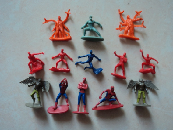 Figuras Marvel Hombre Araña Bimbo Barcel Twinky Sabritas
