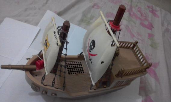 Navio Barco Pirata Tipo Playmobil Gi Joe Chap Mei