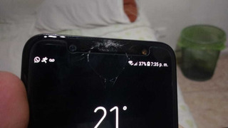 Samsung J8 Con Detalle Esta Liberado