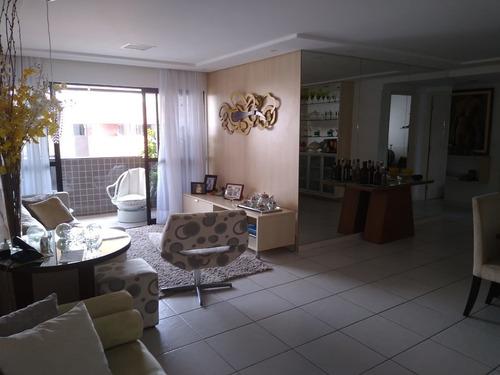 Imagem 1 de 13 de Apto 120m² Na Ponta Verde 3 Quartos Dce Área De Lazer Completa Por 750mil !! - 603