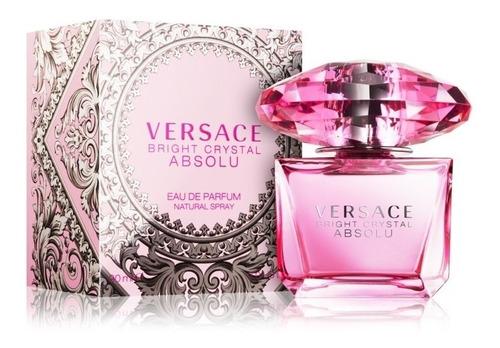 Perfume Versace Bright Crystal Absolu 100% Original 90ml