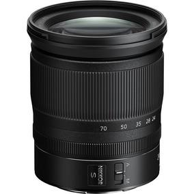 Lente Nikon Nikkor Z 24-70mm F/4 S Z6 E Z7