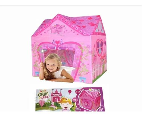 Imagen 1 de 3 de Casita De Juegos Castillo Carpa Infantil Fd7682 Educando