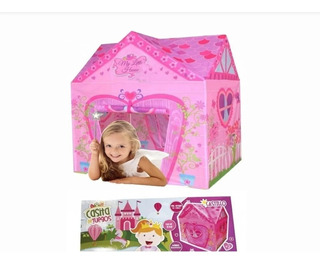 Casita De Juegos Castillo Carpa Infantil Fd7682 Edu Full
