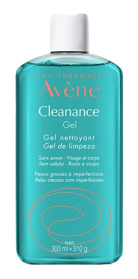 Gel De Limpeza Facial Avène Cleanance 300ml Original