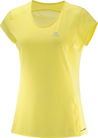 Remera Salomon - Comet Plus Ss Tee W - Running - Mujer
