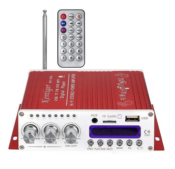 Amplificador Bluetooth Kentiger V10
