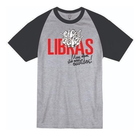 Camiseta Universitária Do Curso De Libras Dafacu 03