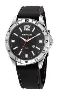 Relógio Seculus Masculino 23662g0svni1 Preto