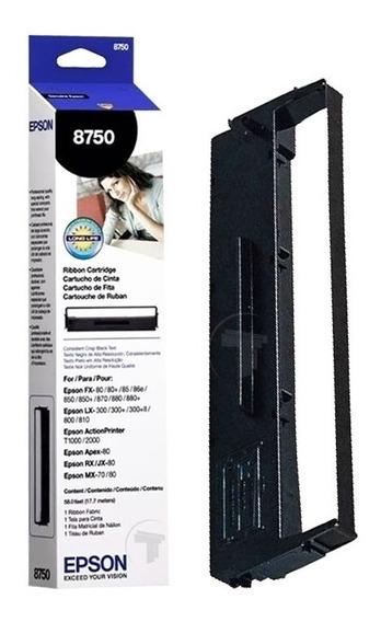 Cinta Epson Original 8750 Lx-300 Fx80 Lx800 T1000 Mx80