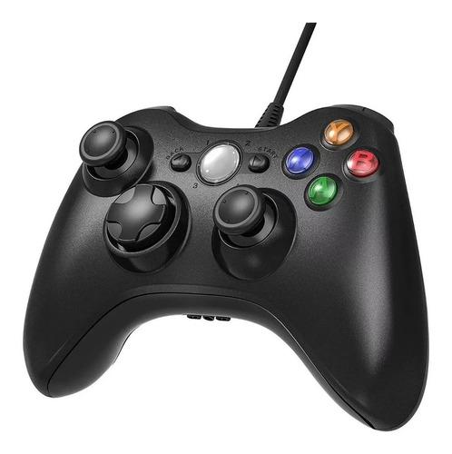 Control Para Xbox 360 Y Pc Con Cable Compatible
