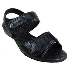 Sandália Modare Ultra Conforto 7034.104 Preto .nova Coleção