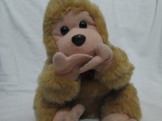 Macaco De Pelucia Clone Toy Usado Leia Anuncio Bb024