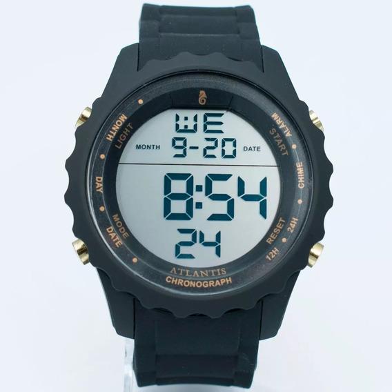 Relógio Esportivo Atlantis 18k Masculino Shock