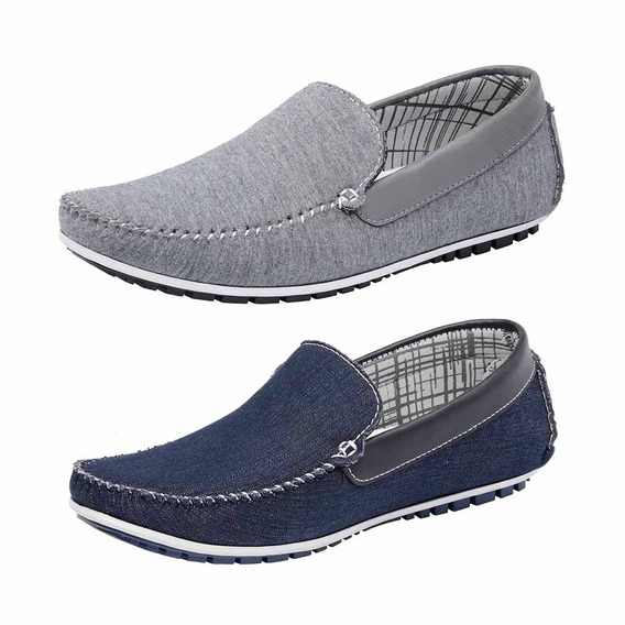 Combo 2 Pares Mocassim Masculino Avalon Kit-52 Docksiders
