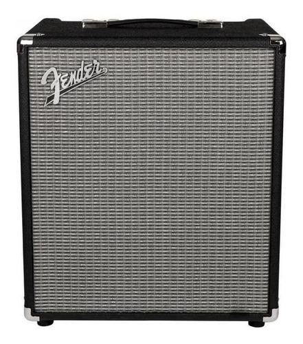 Amplificador Fender Rumble Series 100 Combo 100W negro y plata 120V