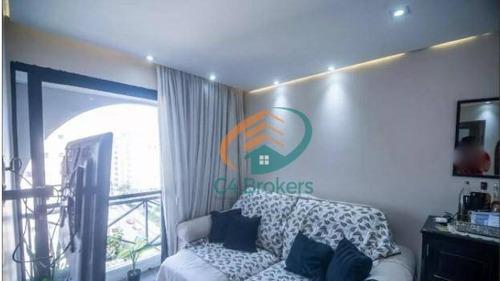 Apartamento Com 2 Dormitórios À Venda, 48 M² Por R$ 300.000,00 - Quinta Da Paineira - São Paulo/sp - Ap3604