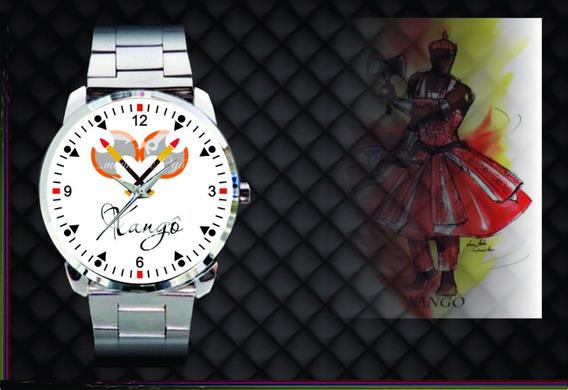 Relógio De Pulso Personalizado Religião Xangô - Cod.1068