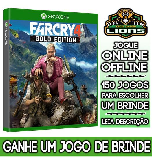 Far Cry 4 Gold Edition Xbox One + Brinde
