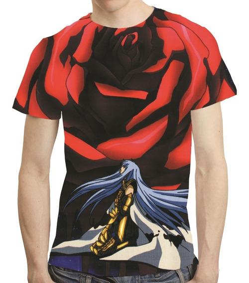 Camisa Camiseta Albafica De Peixes The Lost Canvas Mod 03