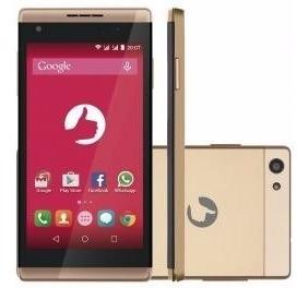 Smartphone Positivo Selfie S455 8gb Dourado - Dual Chip 3g