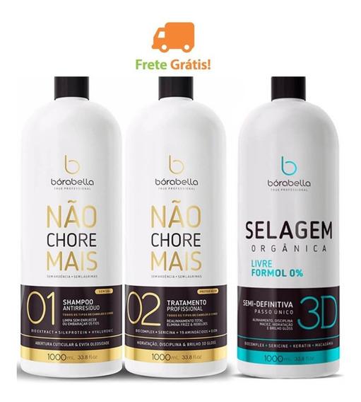 Borabella Nao Chore Mais Kit + Selagem 3d Borabela Combo 3