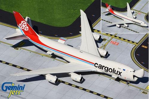 Miniatura Gemini Jets 1:400 Cargolux Boeing 747-8f