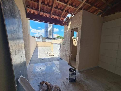Imagem 1 de 20 de Cobertura À Venda, 99 M² Por R$ 358.000,00 - Vila Alzira - Santo André/sp - Co5373