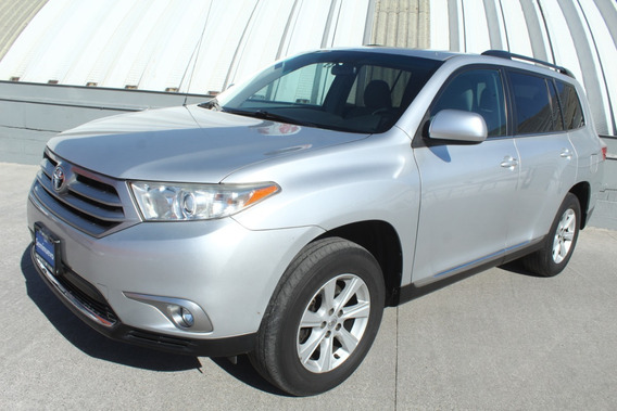 Toyota Highlander Base Prem Plata 2012 Impecable C/garantia