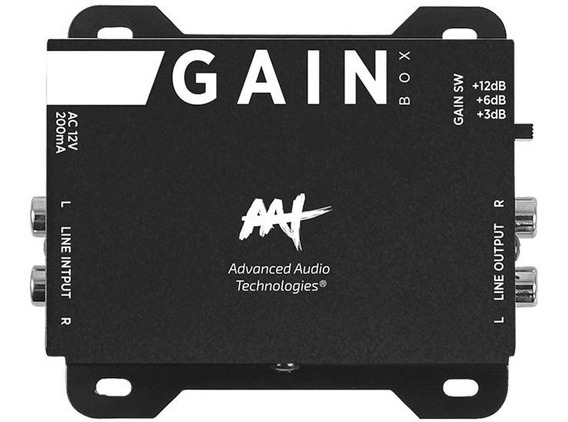 Amplificador De Sinal De Linha Ajustável Aat Gain Box